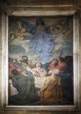 Antagande av den jungfruliga Maryen arkivbilder