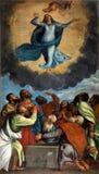 Antagande av den välsignade jungfruliga Maryen royaltyfria bilder