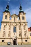Antagande av jungfruliga Mary, St Cyril och den Methodius basilikan, Velehrad fotografering för bildbyråer