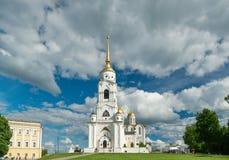 1507 1533 antagande byggde domkyrkaår Vladimir, Royaltyfri Fotografi