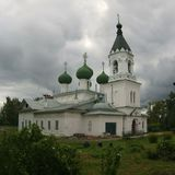 1507 1533 antagande byggde domkyrkaår Vologda Gorny kloster Arkivbilder