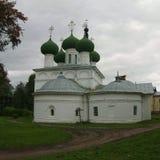 1507 1533 antagande byggde domkyrkaår Vologda Gorny kloster Royaltyfri Foto
