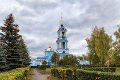1507 1533 antagande byggde domkyrkaår Zadonsk Ryssland Arkivfoto