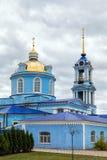1507 1533 antagande byggde domkyrkaår Zadonsk Ryssland Fotografering för Bildbyråer