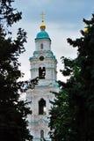 1507 1533 antagande byggde domkyrka?r Kreml i astrakan, Ryssland F?rgfoto royaltyfria bilder