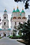1507 1533 antagande byggde domkyrka?r Kreml i astrakan, Ryssland F?rgfoto royaltyfri bild