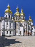 Antagandedomkyrka av Kiev-Pechersk Lavra Royaltyfri Fotografi