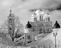 Antagandedomkyrka i den Dmitrov Kreml, Ryssland, Moskvaregion I Fotografering för Bildbyråer