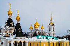 Antagandedomkyrka i Kreml i Dmitrov, Ryssland Royaltyfri Fotografi