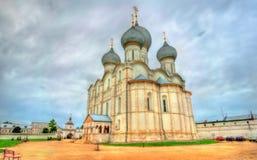 Antagandedomkyrka i Rostov Veliky, Yaroslavl Oblast av Ryssland Royaltyfri Bild