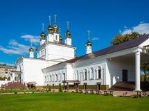 Antagandedomkyrka i staden av Ivanovo, Ryssland Royaltyfria Bilder