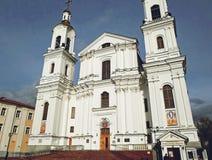 Antagandedomkyrka i Vitebsk Royaltyfria Foton