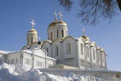 Antagandedomkyrka i Vladimir, Ryssland Royaltyfri Bild