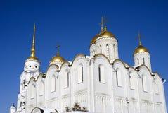 Antagandedomkyrka i Vladimir, Ryssland Arkivbild