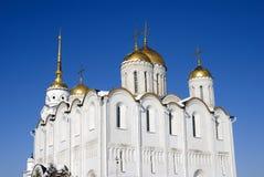 Antagandedomkyrka i Vladimir, Ryssland Arkivfoto