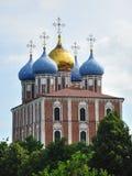 antagandedomkyrka kremlin russia ryazan Arkivbild