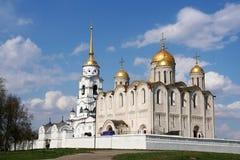 Antagandedomkyrka på Vladimir Royaltyfria Foton