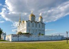 Antagandedomkyrka på Vladimir, Ryssland Royaltyfria Bilder