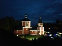 Antagandekyrka i Suzdalen fotografering för bildbyråer