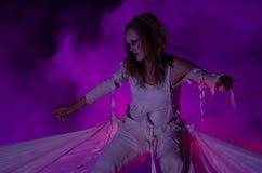 Antagon-Theater aktion Lizenzfreies Stockfoto