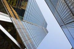 antagonisHong Kong skyskrapa Royaltyfri Foto