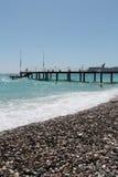 Antalia de la playa de Kemer Fotos de archivo