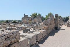 Antalia de las piedras de las ruinas Fotos de archivo libres de regalías