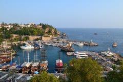 Antalia marina Arkivfoto