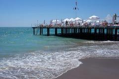 Antaly Beach. Photo from a beach in Antalya, Turkey Stock Images