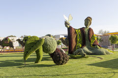 Antalya, λουλούδια της Τουρκίας EXPO και παιδιά Στοκ φωτογραφίες με δικαίωμα ελεύθερης χρήσης