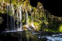 Antalya, πτώση Duden, καταρράκτης Στοκ Εικόνες