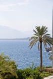 Antalya Τουρκία παραλιών θάλασσας Στοκ Εικόνες