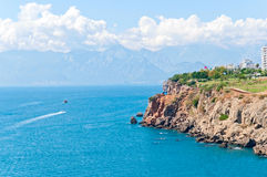 Antalya. The coast of Antalya, Turkey Stock Images