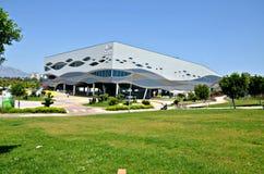 Antalya akwarium World's duży tunelowy akwarium! zdjęcia royalty free
