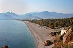 Antalya beach Turkey Stock Image