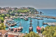 Antalya city, Antalya marina Stock Photo