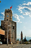 Antalya clock tower Stock Photography