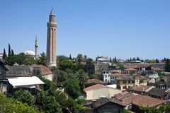 Antalya, die Türkei Lizenzfreies Stockfoto