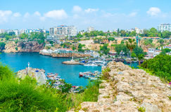 Antalya do penhasco foto de stock royalty free
