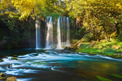 antalya duden водопад индюка Стоковое Фото