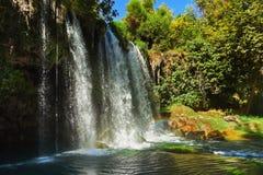 antalya duden водопад индюка Стоковая Фотография