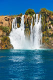 antalya duden водопад индюка Стоковые Изображения
