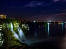 Antalya Duden Waterfall Stock Image