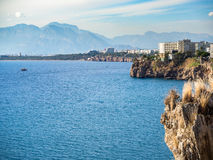 Antalya falez mening Royalty-vrije Stock Foto's