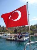 Antalya-Hafen Stockbild