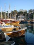 Antalya-Hafen Stockbilder
