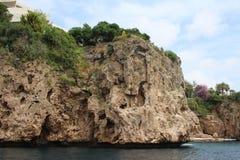 Antalya harbor area royalty free stock photos