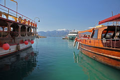 Antalya harbour Stock Photo
