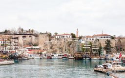 Antalya Harbour Stock Photography