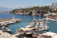 Antalya Harbour, Turkey Stock Photo